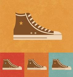 Retro Shoe vector image vector image