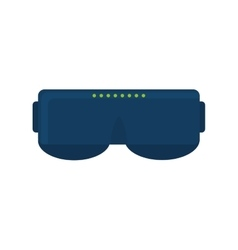 vr glasses device game technology vector image vector image