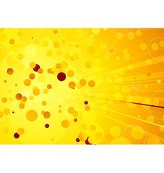 Solar warm summer background vector image vector image
