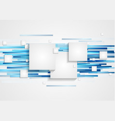Abstract tech geometry background vector