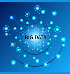 big data vector image