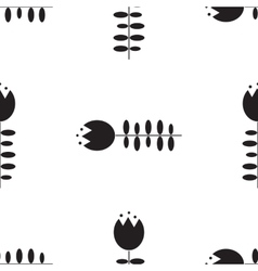 Flower Seamless pattern Floral stylish background vector