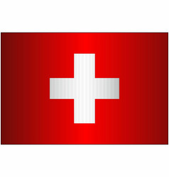 Grunge flag of switzerland vector