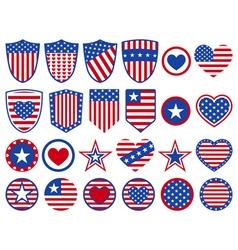 USA symbols vector