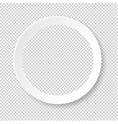 white frame ball isolated transparent background vector image