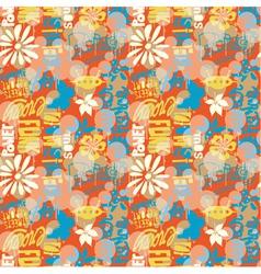 Urban wallpaper vector image vector image