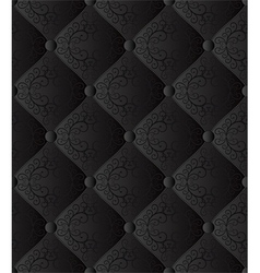 black seamless background vector image vector image