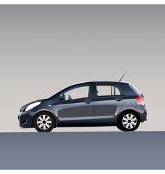 New model of auto vector image vector image