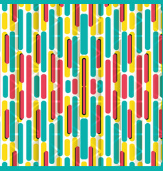 geometrics lines and colors background vector image