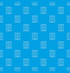 Hockey ice field pattern seamless blue vector