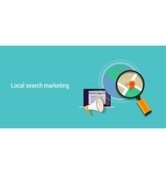 Local search marketing vector