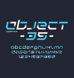 Object 35 futuristic industrial display vector