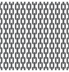 Seamless pattern background with chains vector image vector image