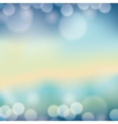 blur lights background vector image