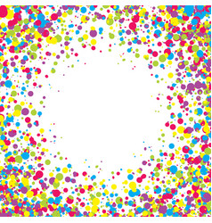 abstract background with falling multicolored vector image