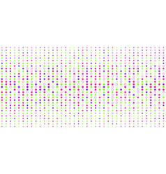 abstract colorful dots pattern halftone style on vector image