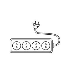 Plug power energy technology icon graphic vector
