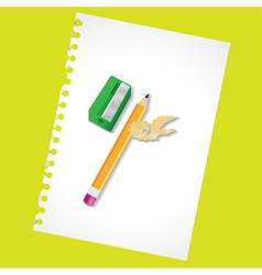 Sharpened pencil vector image