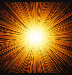 Sun shine glow light vector