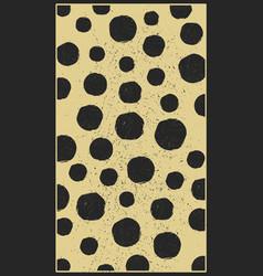 vintage spot pattern vector image