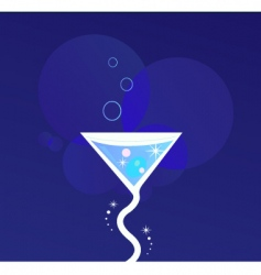 party cocktail vector image vector image