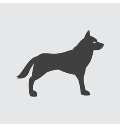 Wolf icon vector image vector image