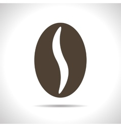 coffee bean icon Eps10 vector image