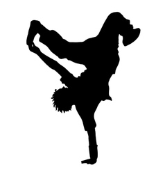 Dance Street dance vector