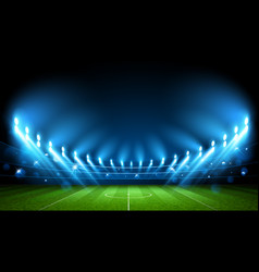 Football arena stadium vector