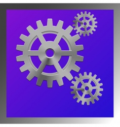 gear box composition vector image