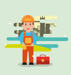 People workers profession vector