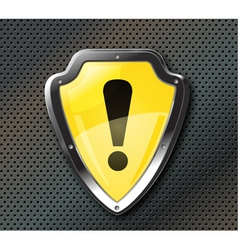 protection shield vector image