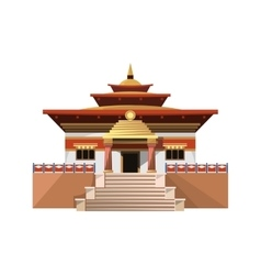 temple heaven icon isolated on white background vector image