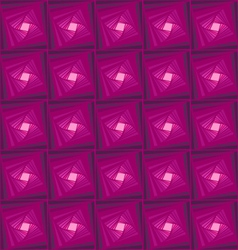 Zentangle pattern with purple ornamental vector image