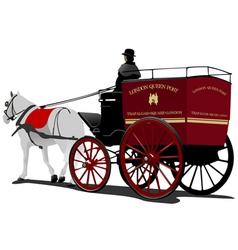 london cab 01 vector image