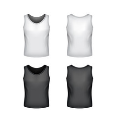 male singlet isolated on white vector image