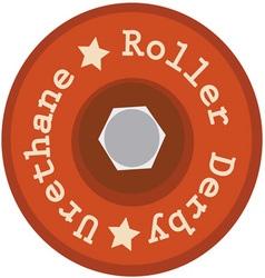 Urethane Roller Derby vector image vector image