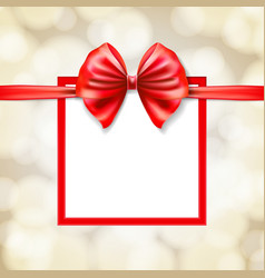 frame gift box vector image