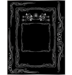 frames corners and ornaments vector image