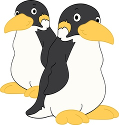 Penguin Friends vector image vector image
