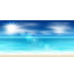 Sea coast vector image vector image