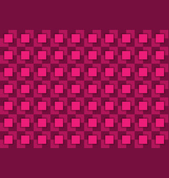 abstract background composed of squares in pink vector image