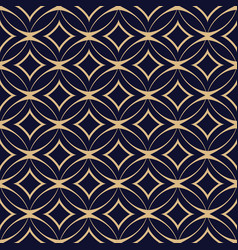 Abstract geometric seamless pattern with vector