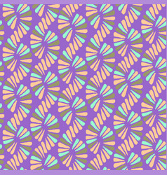 abstract seamless nature ribbon pigtail vector image