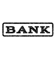 bank watermark stamp vector image