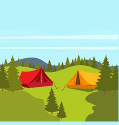 camp element icon design vector image