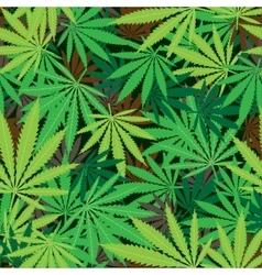 Cannabis hemp texture vector