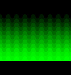 green abstract background - waves vector image