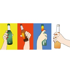 Fantasy of Beers vector image