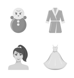 business trade atelier and other web icon in vector image
